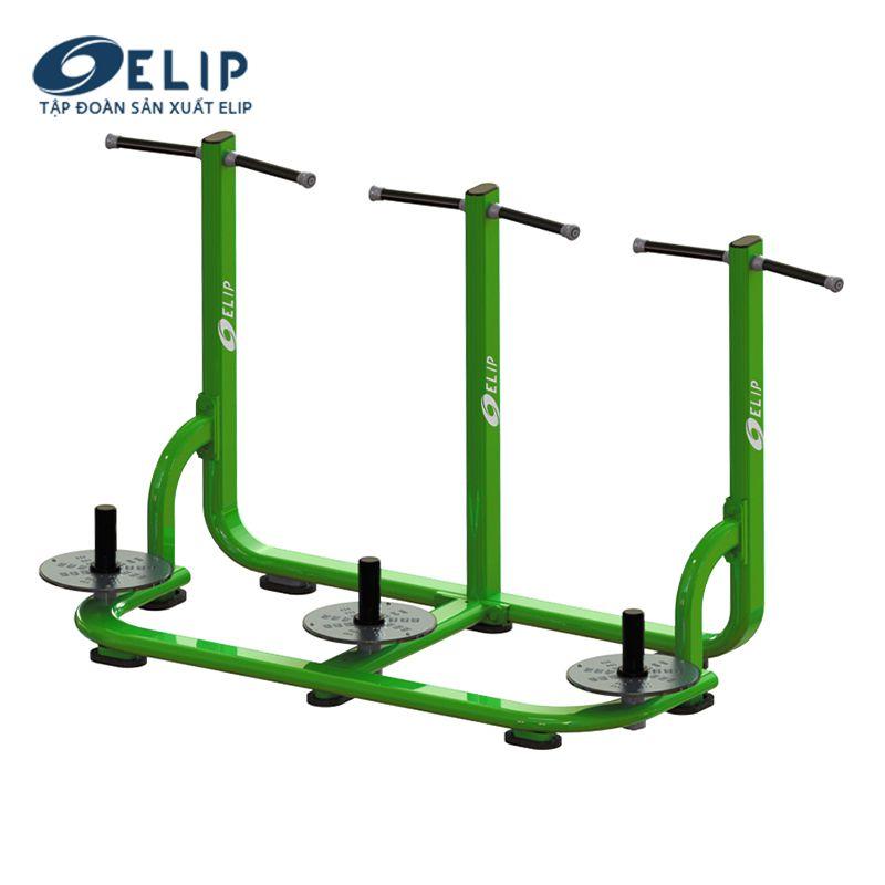 Dụng cụ tập xoay eo công viên ELIP 3 đĩa E3000