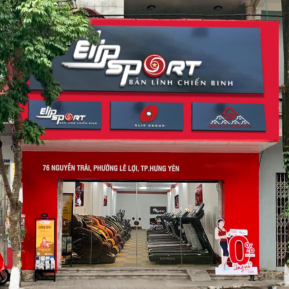 Hình ảnh của chi nhánh Elipsport Hưng Yên