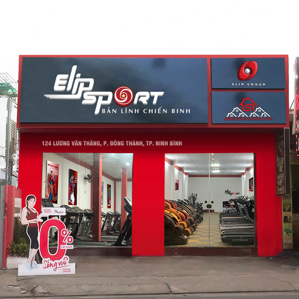 Hình ảnh của chi nhánh Elipsport Ninh Bình