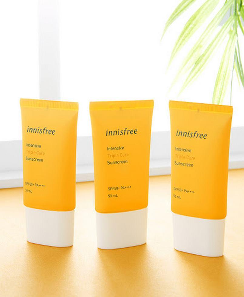 Kem chống nắng cho da dầu Innisfree Intensive Triple Care Sunscreen