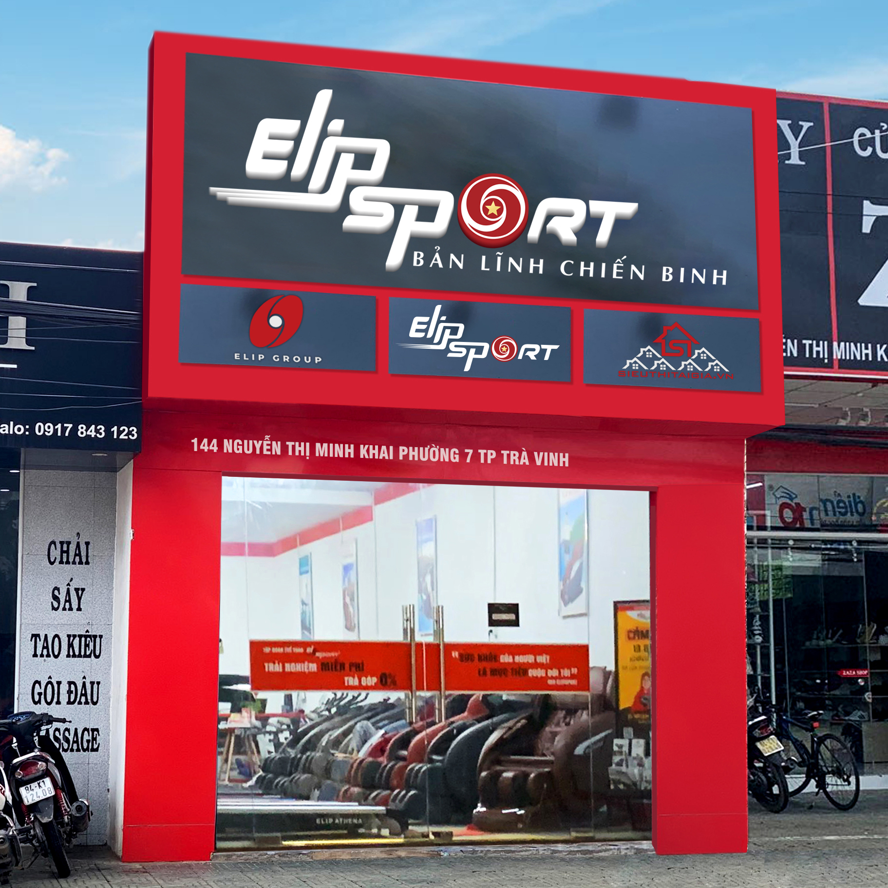 Hình ảnh của chi nhánh Elipsport Trà Vinh