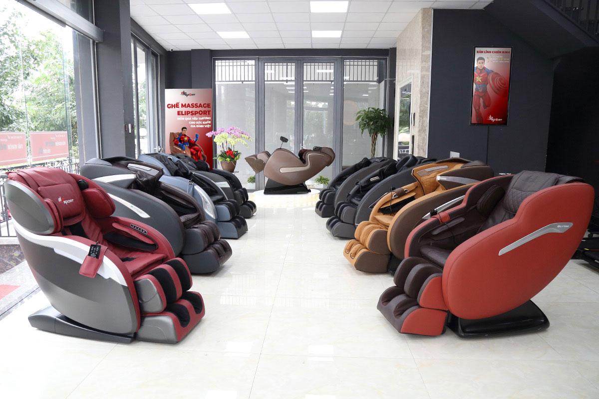 ghế massage Biên Hòa