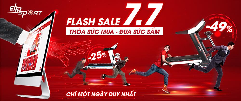 Flash Sale duy nhất ngày 7.7