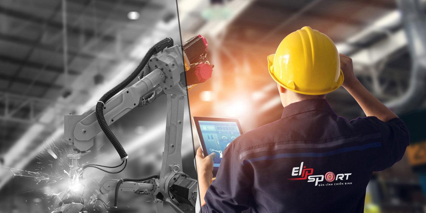 Công nhân nhà máy Elip