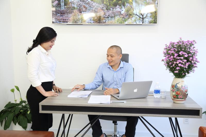 CEO Lê Mạnh Trường phê duyệt quyết định triển khai chương trình