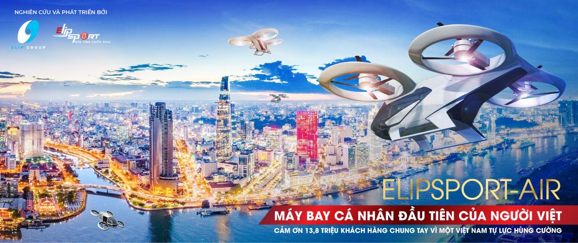 Chế tạo máy bay cá nhân Elipsport-Air: khát vọng vươn xa Việt Nam