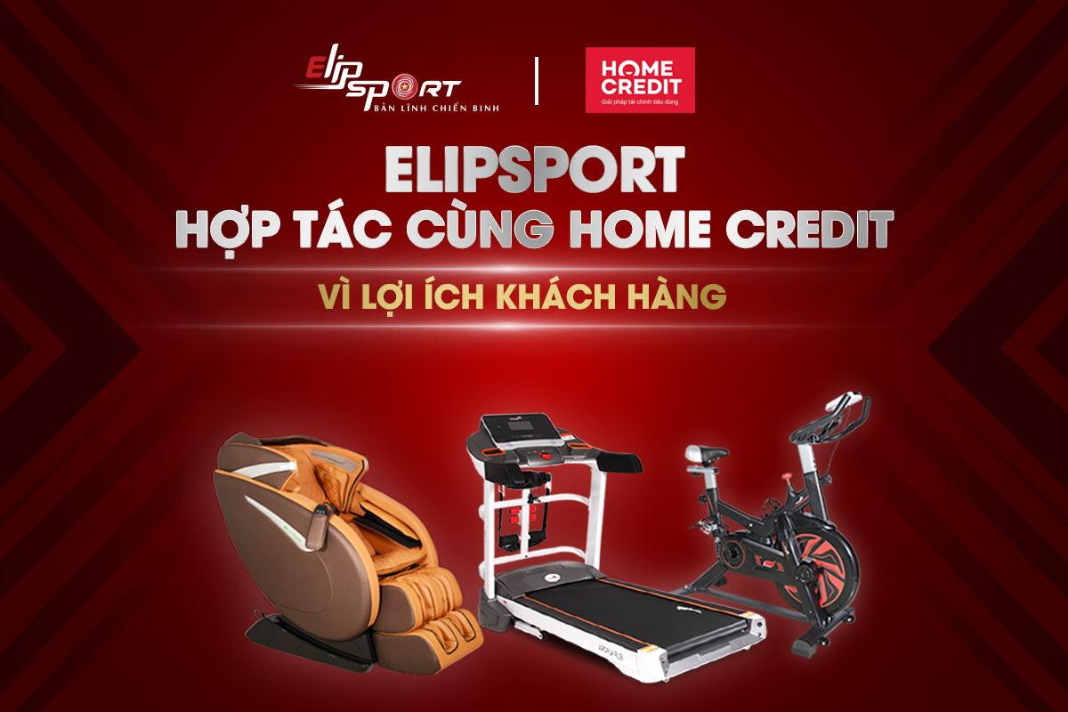 Elipsport Hợp Tác Cùng Home Credit