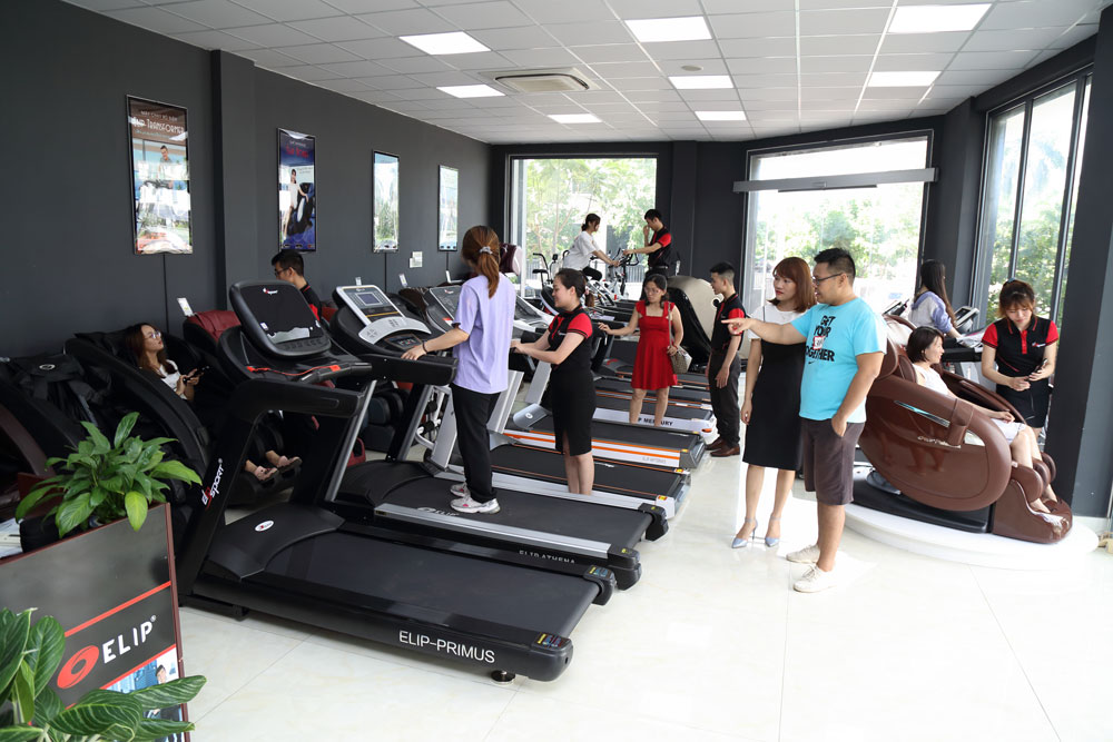 Showroom Elipsport - thiết bị luyện tập thể thao