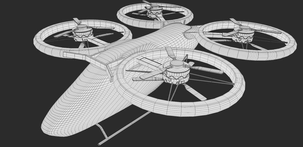 Những bản vẽ phác thảo đầu tiên về Elipsport-Air được thực hiện tại trung tâm Elipspace
