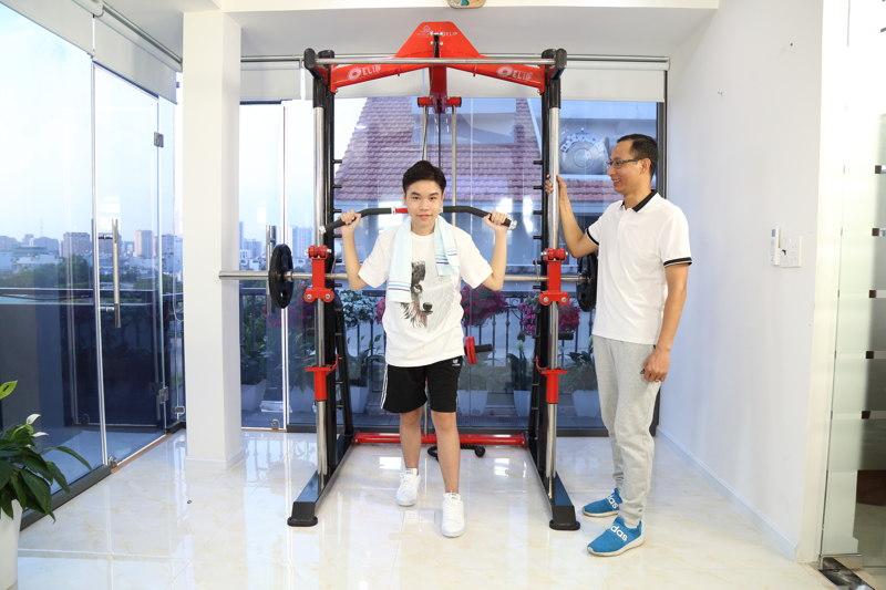 Tập thể dục tại nhà tăng sức đề kháng