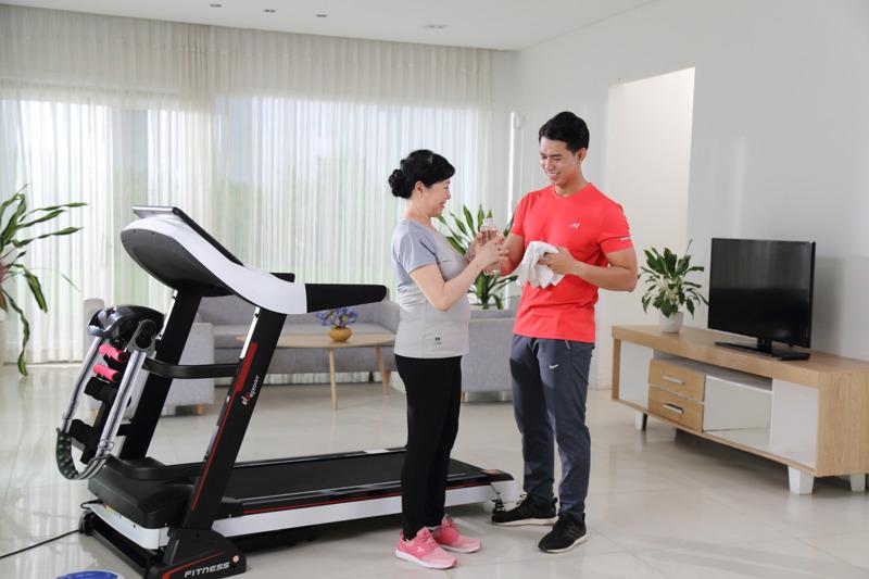 Lắp đặt phòng gym tại chung cư