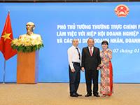 Ảnh nhỏ cho slide CEO Elipsport tiếp kiến P.Thủ tướng Trương Hòa Bình tại VPCP