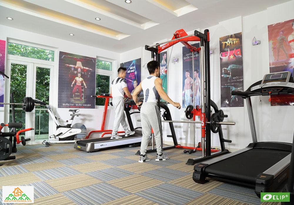 Quốc Cơ – Quốc Nghiệp set up phòng gym tại gia - ảnh 7