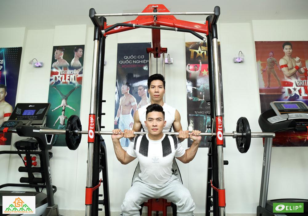 Quốc Cơ – Quốc Nghiệp set up phòng gym tại gia - ảnh 8