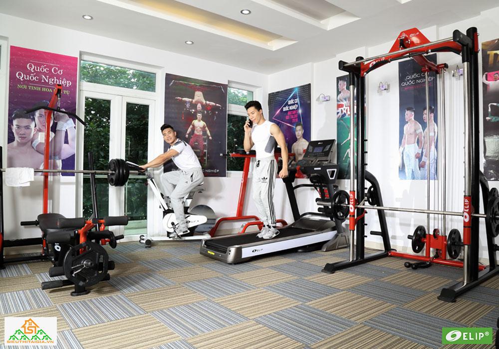 Quốc Cơ – Quốc Nghiệp set up phòng gym tại gia - ảnh 9