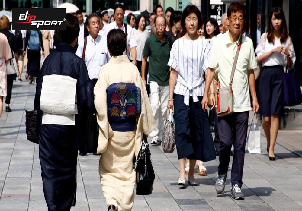 đi bộ giảm cân của người nhật