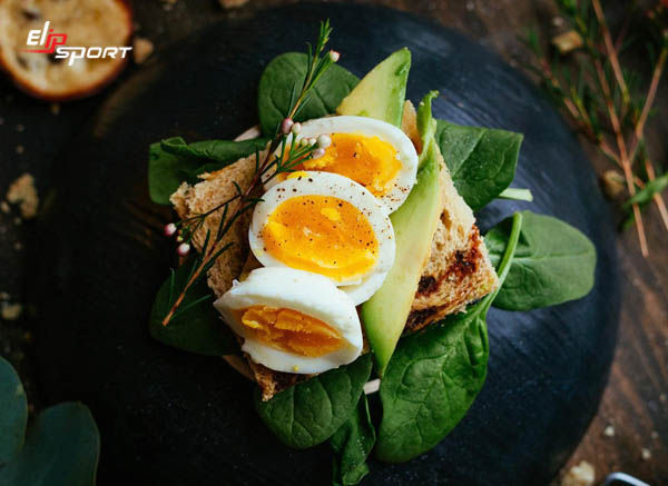 giảm cân với trứng