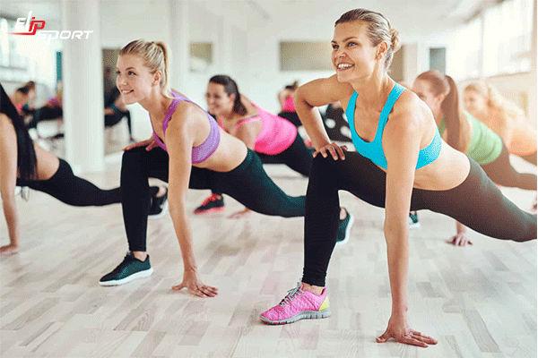 tập aerobic giảm cân