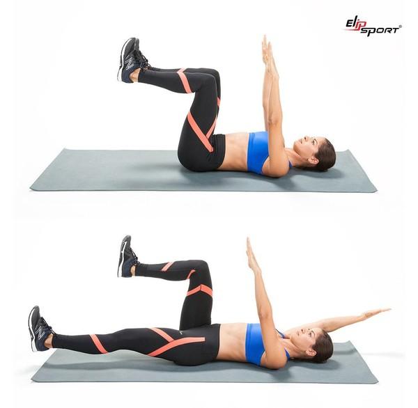 bài tập bụng dưới cho nữ tại phòng gym