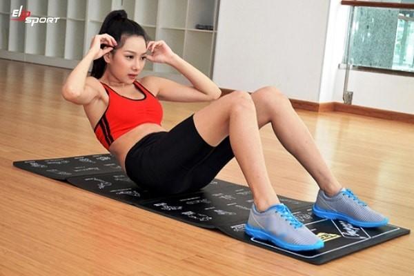 bài tập giảm mỡ bụng cho nữ tại nhà