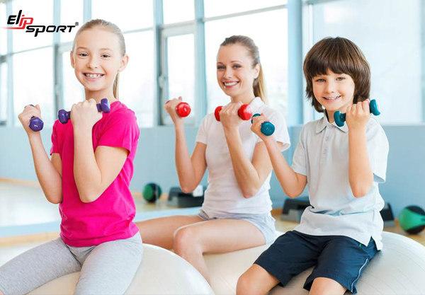 trẻ bao nhiêu tuổi mới được tập gym