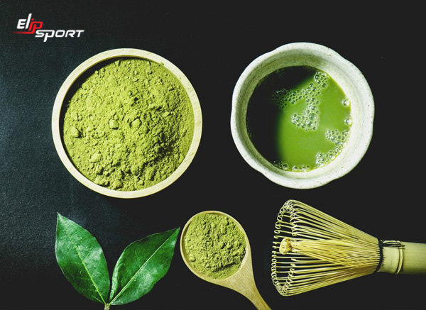 cách giảm cân bằng bột trà xanh