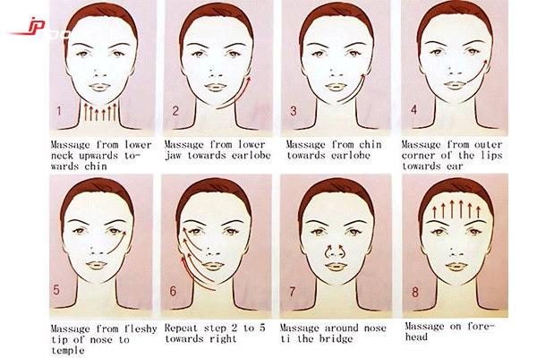 cách massage giảm mỡ mặt