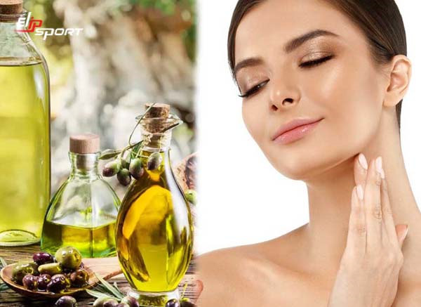 cách massage mặt bằng dầu oliu