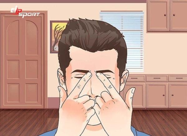 cách massage mũi trị viêm xoang