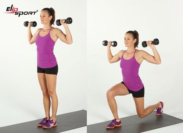 cách tăng cơ giảm mỡ cho nữ