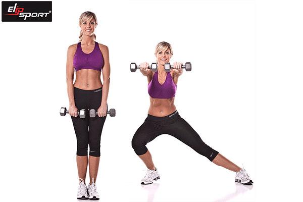 tạ đơn dụng cụ tập gym tại nhà cho nữ