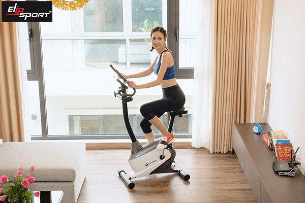xe đạp tập dụng cụ tập gym tại nhà cho nữ