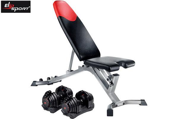 ghế tập tạ điều chỉnh độ dốc Bowflex GTBF