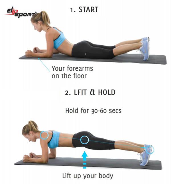 bài tập plank là gì