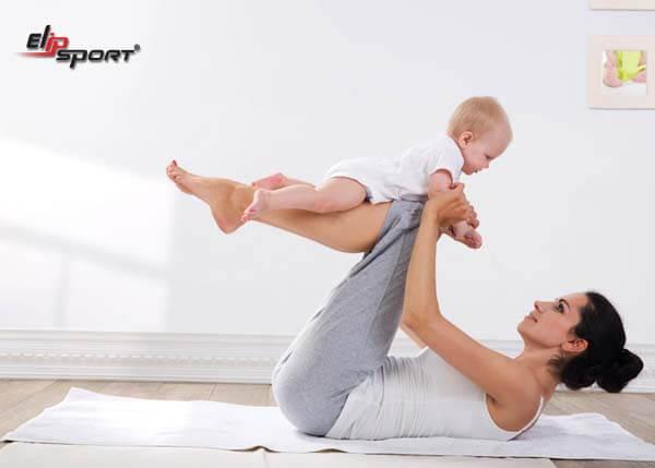 Sau sinh thường khoảng 2-3 tháng là bạn có thể tập luyện nhẹ nhàng