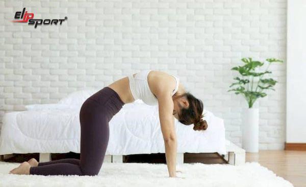 tập bụng bị đau lưng thì làm gì