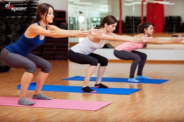 cách tập gym giảm cân cho nữ