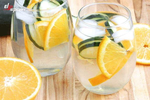 uống nước vỏ cam giảm cân