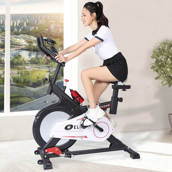 đạp xe tại chỗ có tác dụng gì