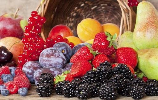Qủa mọng trái cây chứa chất oxy hóa tốt