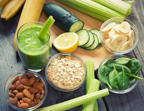 Tăng cường các loại rau, củ, quảgiúp cơ thể tăng cân nhanh hơn