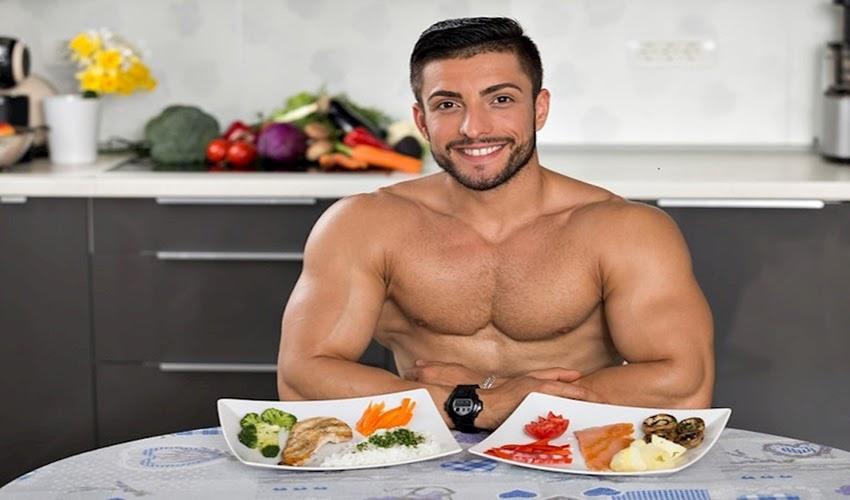 lịch tập gym tăng cân kết hợp ăn uống