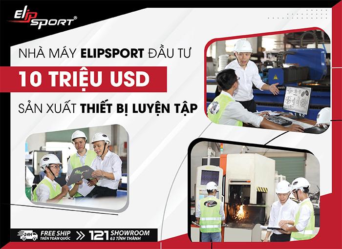 Nhà máy Elipsport chi 10 triệu USD tập trung sản xuất, kì vọng vị trí số 1 Đông Nam Á