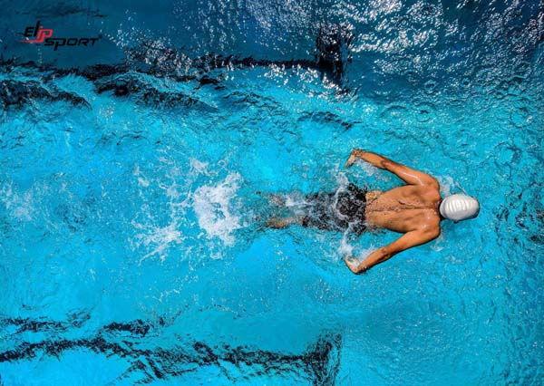 bơi ếch bị đau lưng