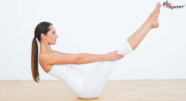 yoga giảm mỡ đùi