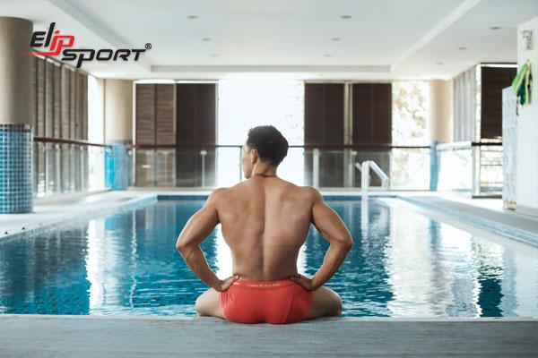 tập gym và bơi lội