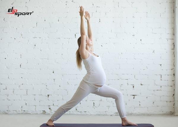 những bài tập yoga cho bà bầu