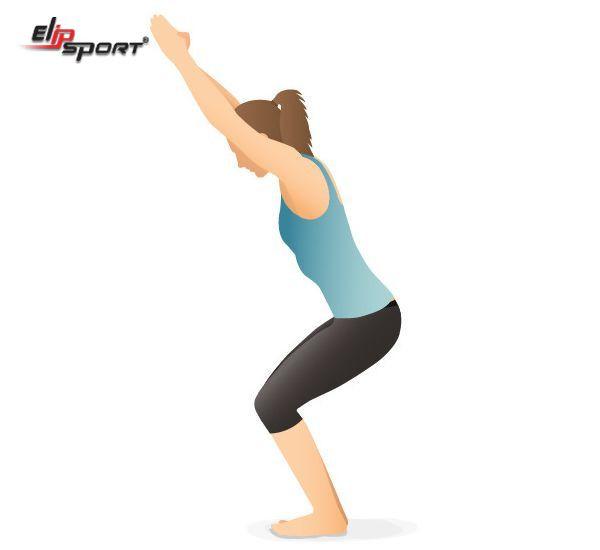 bài tập yoga eo thon bụng nhỏ