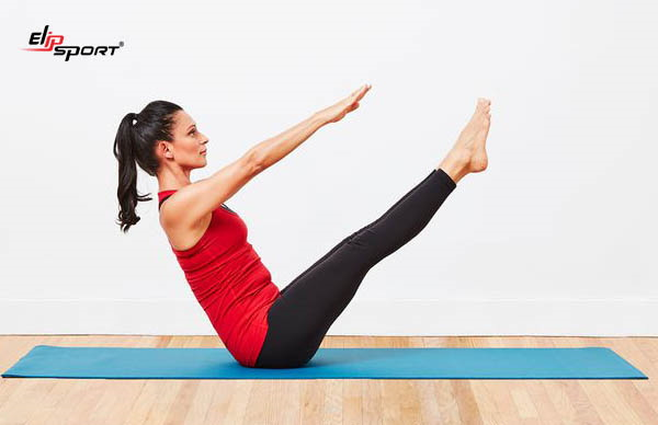 tập yoga eo thon