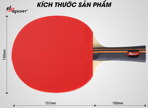 thông số kỹ thuật của mặt vợt bóng bàn